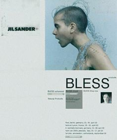 american-idolatry:    BLESS x Jil Sander invitation