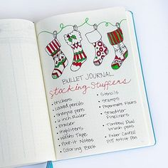 Some of my favorite #bulletjournal #stockingstuffers. What would you add? #christmasplanning