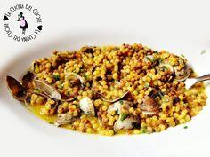 La Fregula Sarda con porcini e arselle è un piatto tipico della cucina sarda. Si può fare in vari modi e con i condimenti più svariati.