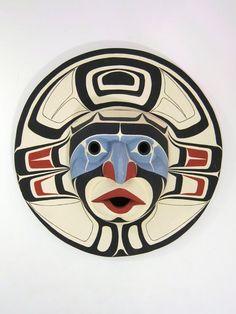 Lelooska (1933-1996), Moon mask, 1965-1975, wood
