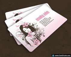 Salon Free Business Card Template