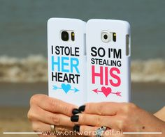 I stole her heart ❤ So I'm sttealing his ❤ Phone Cases - www.ontwerp-zelf.nl