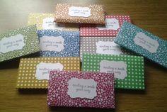 Chocolate Treat Envelopes