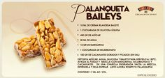 Palanqueta Baileys Recipes, Plum Cake, Baileys Irish Cream, Food Humor, Liquor, Tasty, Baking, Vegetables, Sweet