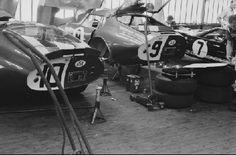 Shelby workshop Le Mans 1965