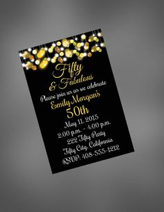 what size are birthday invitations