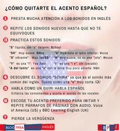 El Blog para aprender inglés: 7 consejos sobre cómo quitarte el acento del español cuando hablas inglés