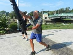 ViPR, Hip or Knee Replacement Exercise,  Pt.Stanley Fitness Centre, Toro...