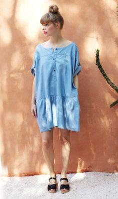 chambray dress, by Plümo