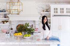 My Kitchen Reveal... - Pink Peonies by Rach Parcell