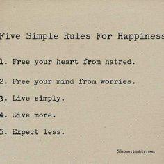 Simple...