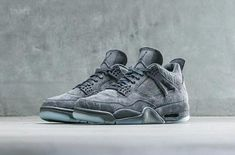 The KAWS x Air Jordan 4 Grey Suede is one of the first collaborated Jordans  of 2017 which will be releasing later this month. d93622749