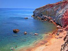 Paliochori Beach - Paleochori, Milos