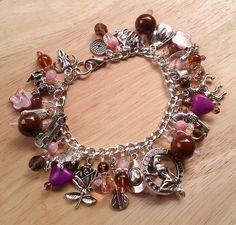 Ride 'Em Cowgirl Charm Bracelet by MistressJennie on Etsy, $60.00