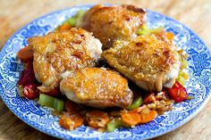 Crispy Skin Chicken With Honey Garlic Sauce | Eat Drink Paleo