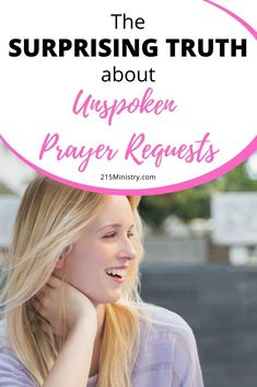 Find out what the Bible says about prayer and whether you should be praying for someone's unspoken prayer request.