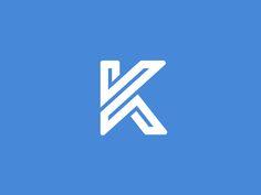 K 1 by Kakha Kakhadzen #Design Popular #Dribbble #shots