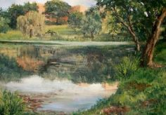 Potter's Lake by Jewell Willhite