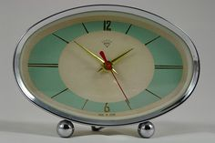 vintage 50s atomic clock | Flickr - Photo Sharing!