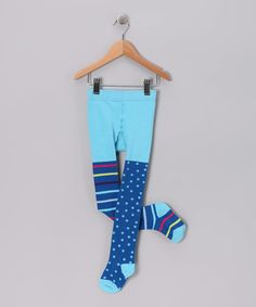 Take a look at this Blue La Paz Tights - Infant & Toddler on zulily today!