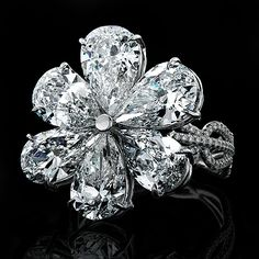 diamonds and flowers... 2 birds, one stone!