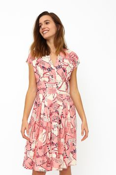 Esther Loveletters Shirt Dress by Emily and Fin