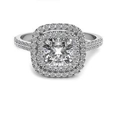 1.30 TCW Round Cut Diamond 925 Sterling silver Halo Best Wedding Engagement Ring