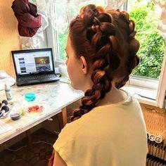 Визажист, плетение кос 89166484310 Instagram olya_kolchanova VK kolchanova_olga