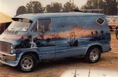 Dodge Van, Chevy Van, Customised Vans, Custom Vans, Camper, Old School Vans, Van Wrap, Day Van, Cool Vans