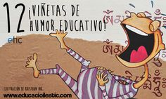 ¡12 viñetas de humor educativo!