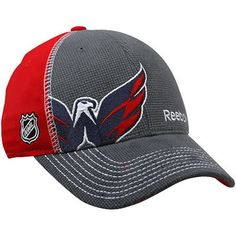 buy popular 8052b 98394 Reebok Washington Capitals 2012 Draft Flex Hat - Charcoal Red Washington  Capitals Hat, Reebok