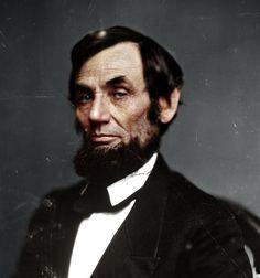 Amazing colorized photos Abraham-Lincoln http://www.retronaut.com/2012/12/colorized-american-civil-war-photographs/