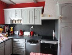 comment rajeunir une cuisine moche cr dence carrelage meuble de cuisine cuisine en ch ne. Black Bedroom Furniture Sets. Home Design Ideas