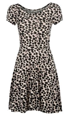 Primark SS13 Leopard Skater Dress, £5