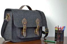 MESSENGER BAG,Macbook 15 Case,genuine leather straps bag, 15-inch Macbook case, crossbody bag by BPStudioDesign on Etsy