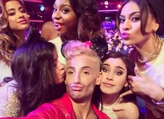 Fifth Harmony and Frankie Grande