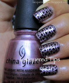 LACQUERED TIPS: Valentine's Day Nails 11