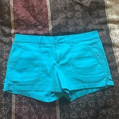 Jean Shorts Bright blue jean shorts hardly worn perfect for summer   Condition: Worn a couple times, brand new condition ❤️ Arizona Jean Company Shorts Jean Shorts