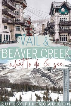 Vail and Beaver Creek are two equally incredible and unique ski resorts that make for a perfect ski trip! beavercreek, beaver creek, vail skiing, vail snowboarding, beaver creek new years eve, beaver creek blog, vail blog, beaver creek ski blog, vail ski blog, vail snowboard blog, what to do in vail, what to do in beaver creek, vail new years, vail, beaver creek, things to do in vail, things to do in beaver creek, vail trip guide, vail on a budget America And Canada, South America, Vail Ski, Usa Travel Map, Ski Vacation, Usa Cities, International Travel Tips, Beaver Creek, Mountain States