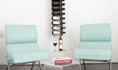 VintageView doesn't believe in relegating wine bottles to a musty back room. The modular wine racks in the company's signature Wall Series put the label forward, displaying wine collections in artful and versatile configurations. The racks range from one to four feet tall, and each is customizable to hold up to three bottles on each arm. The modules are also stackable to fit a range of wall canvases, both residential and commercial. Constructed of high-quality steel and easy to install, the…