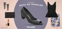 #look #fashion #moda #trend  #sapatos #shoes #tendencia #piccadilly #mylook #festanotrabalho #party