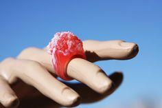 Roze koraal stijl versage Cocktail partij door ClearSiliconeMolds
