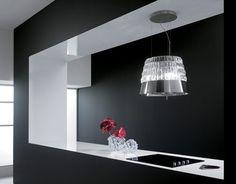 #Design: quando la cappa diventa oggetto di arredamento. Guarda la gallery: http://www.pinterest.com/rossomattone/style-at-home-indoor/
