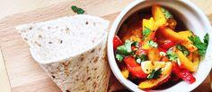 K mäsu, do wrapu, ako antipasti, tapas... Jednoduché a rýchle pečené papriky. http://varme.sk/recipe/pecene-papriky-aka-insalata-di-peperoni-arrosto/