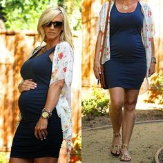 Maternity fashion - photo