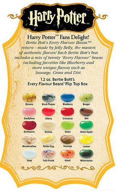 Harry Potter's favorite candy has returned! Get a box of tasty jelly beans blended with weird, wild ones!  They're back! It's the return of the infamous Bertie