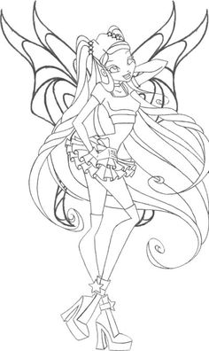 winx stella coloring pages.html