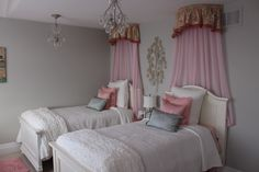 Florentine single model home - bedroom 4 girls bedroom.  Designed for 2 girls in a traditional princess theme....where 2 young girls will love to hang out in.     Bedroom decor Home Decor Home Design Home Decorating Furniture Decoration Ideas Girls bedroom décor