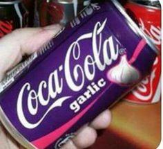 Coca-Cola garlic