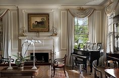 98 best Georgian Interior images on Pinterest   Homes  Interior     Home Interior Design  Georgian Revival Addition   Lexington  Kentucky